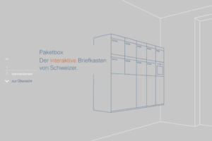Paketbox Gesamtauftritt & Werbung